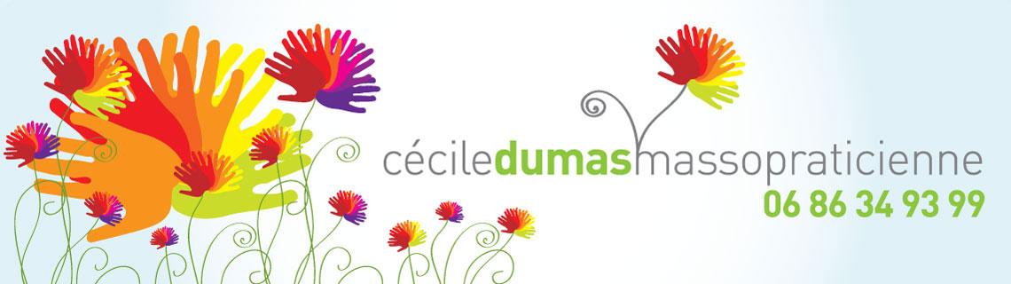 Entête du site Cécile Dumas
